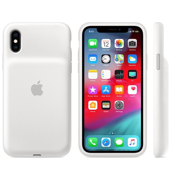 Apple Smart Battery Case Para Iphone Xs Max Branco Img 03