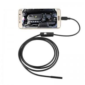 Camera Endoscopica Usb Hd 2mp 2metros Lente 5.5mm Com Leds A Prova Dagua Img 01