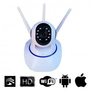 Camera IP Robo Wi Fi 360 Infravermelho 3 Antenas IMG 01