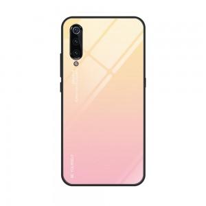 Capa Dura Emborrachada Vidro Temperado Gradiente Rosa Claro Bege Essager Be Yourself Xiaomi Mi 9 Img 12