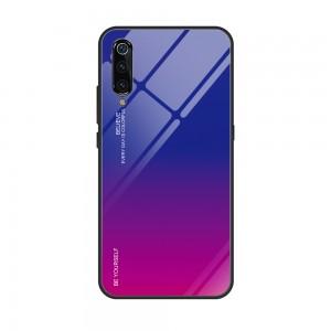 Capa Dura Emborrachada Vidro Temperado Gradiente Rosa Escuro Azul Escuro Essager Be Yourself Xiaomi Mi 9 Img 07