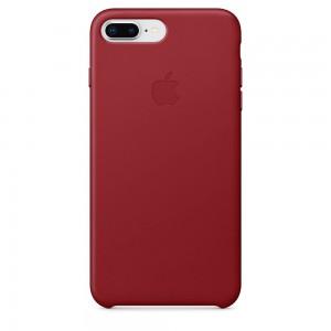 Capa De Couro Para Iphone 8 Plus 7 Plus Vermelha Img 01