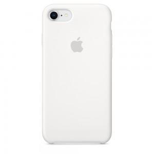 Capa De Silicone Para Iphone 8 7 Branca Img 01