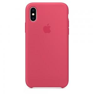 Capa De Silicone Para Iphone Xs Hibisco Img 01