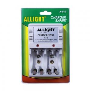 Carregador Pilha Aa Aaa Bateria 9v Allight Img 01