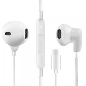 Fone De Ouvido Tipo C Branco Img 01
