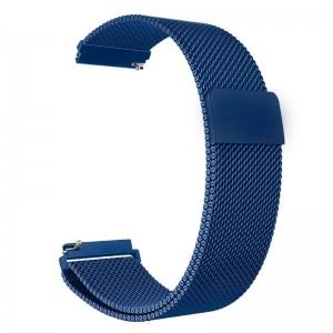 Pulseira Milanese Metal Inoxidavel Azul Xiaomi Amazfit Bip Img 01