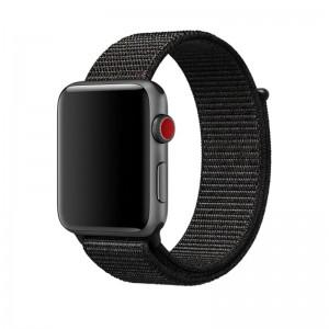 Pulseira Nylon Preta Apple Watch Img 01