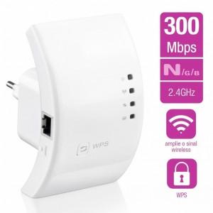 Repetidor De Sinal Wifi 300mbps B G N Bivolt Branco Img 01