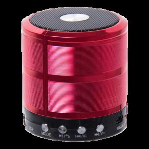 Mini Caixa De Som Bluetooth Ws887 Vermelha Img 01